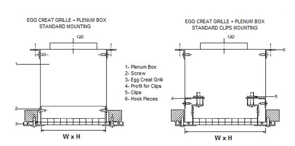2 Topentry Plenum Box Mounting Details